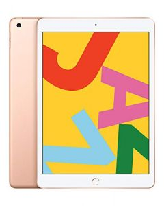 Apple iPad - 10.2inch, Wi- Fi, 128GB -  Gold - Latest Model