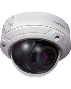 TRENDnet Indoor/Outdoor 4 Megapixel, Varifocal PoE IR Dome Network Camera, Auto-Focus, Optical Zoom, Manual Pan/Tilt, Night Visions Up to 98ft, IP66 Rated Housing, ONVIF, IPv6, TV-IP345PI