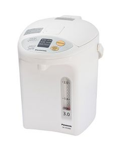 Panasonic Ra41660 Electric Thermo Pot Water Boiler Dispenser Nc-Eg3000 - Slow-Drip Mode For Coffee - Ideal For Tea - Hot Cocoa - Soups And Baby Food - Four Tem - 3.2 Quarts - White