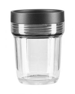 KitchenAid KSB2040BBB K150 and K400 6-oz. Small Batch Jar Blender Expansion Pack - 6 oz - black