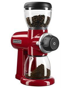 KitchenAid KCG0702ER Burr Coffee Grinder - Empire Red