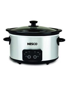 Nesco Dsc-4-25 Digital Stainless Steel Slow Cooker - 4 Quart - Silver