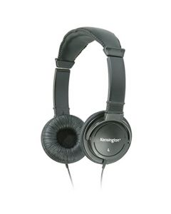 Kensington Hi-Fi On-Ear Headphones with 9-Foot Cord  - K33137 - Black