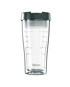 Ninja Coffee Bar XL 22-Ounce Double-Wall Tritan Multi-Serve Hot & Cold Tumbler with Sip & Straw Lid
