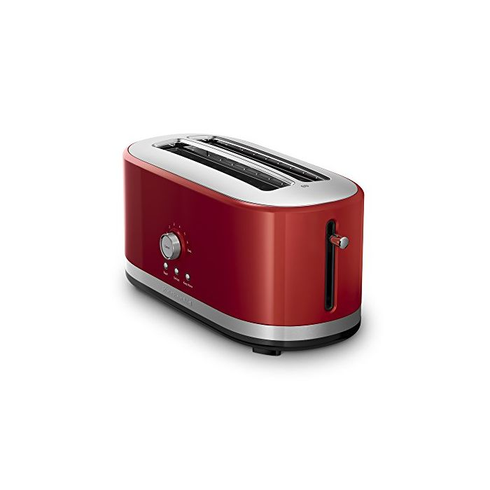 KitchenAid 4 Slice Long Slot Toaster with High Lift Lever - Empire Red