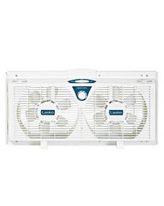 Lasko Twin Electric Reverse Window Fan - Ea