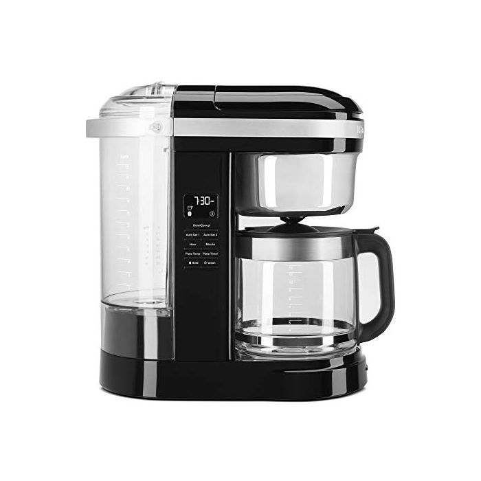 KitchenAid KCM1209OB Drip Coffee Maker - 12 Cup - Onyx Black