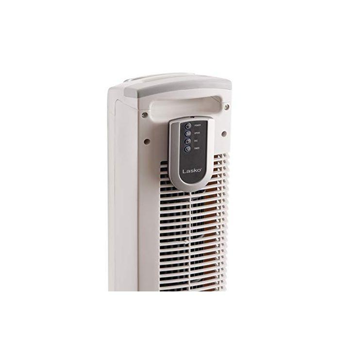 Lasko 2510 Oscillating Tower Fan - 36 Inch - White