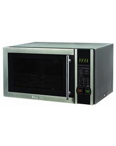 Magic Chef 1.1 Cu. Ft. 1000W Countertop Microwave Oven With Stylish Door Handle - Black
