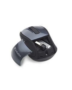 "Verbatim Wireless M""i Travel Mouse Graphite"