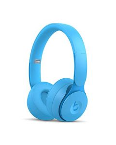 Beats Solo Pro Wireless Noise Cancelling On- Ear Headphones -  Apple H1 Headphone Chip, Class 1 Bluetooth, Active Noise Cancelling, Transparency, 22 Hours Of Listening Time -  Light Blue
