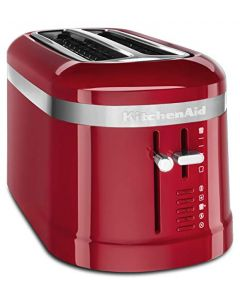KitchenAid KMT5115ER 4 Slice Long Slot High-Lift Lever Toaster - Empire Red