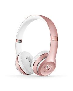 Beats Solo3 Wireless On- Ear Headphones -  Apple W1 Headphone Chip, Class 1 Bluetooth, 40 Hours Of Listening Time -  Rose Gold - Latest Model