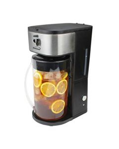 Brentwood Kt-2150Bk Iced Tea And Coffee Maker With 64 Ounce Pitcher - Black