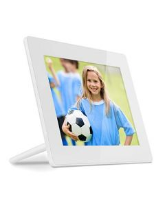 Aluratek 8 Inch WiFi Digital Photo Frame with Touchscreen IPS LCD Display and 8GB Built-in Memory