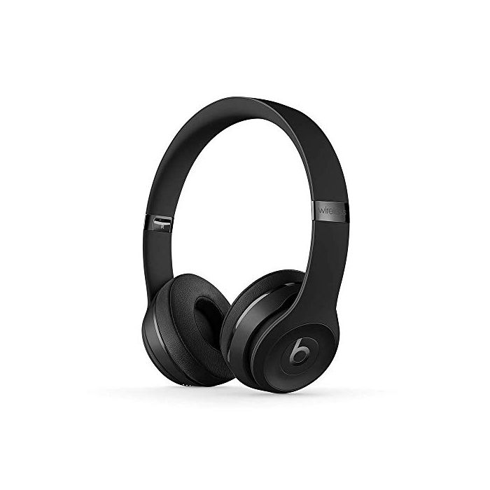 Beats Solo3 Wireless On- Ear Headphones -  Apple W1 Headphone Chip, Class 1 Bluetooth, 40 Hours Of Listening Time -  Black - Latest Model