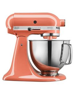 KitchenAid KSM150PSPH Artisan Tilt-Head Stand Mixer with Pouring Shield - 5-Quart - Bird of Paradise