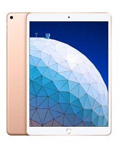 Apple iPadAir - 10.5- inch, Wi- Fi + Cellular, 256GB -  Gold - Latest Model