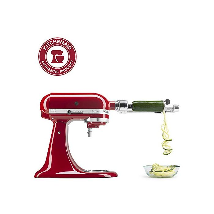 "KitchenAid KSM1APC Spiralizer Attachment - 1"" - Silver"