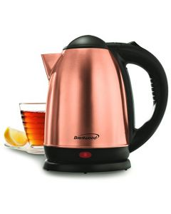 Brentwood 1.7L Stainless Steel Cordless Electric Kettle - Rose Gold