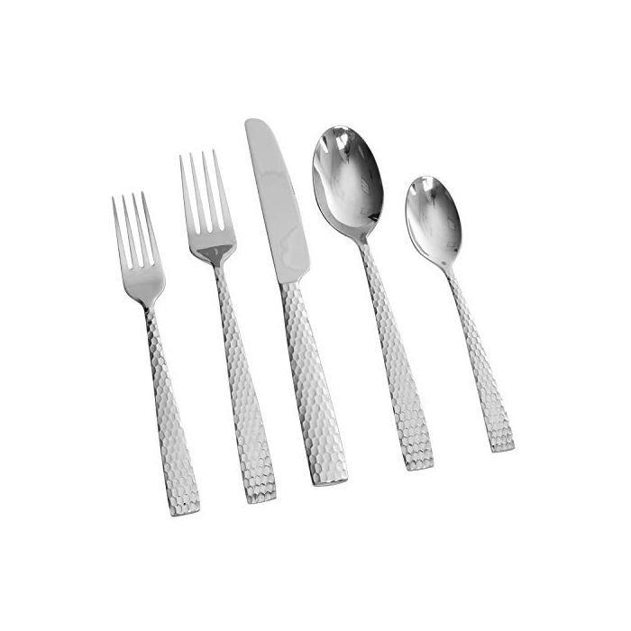 Gibson Elite Braid Stainless Steel Flatware Set - Service For 4 (20Pcs)