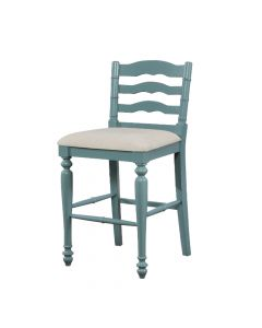 Marino Bar Stool Antique Blue