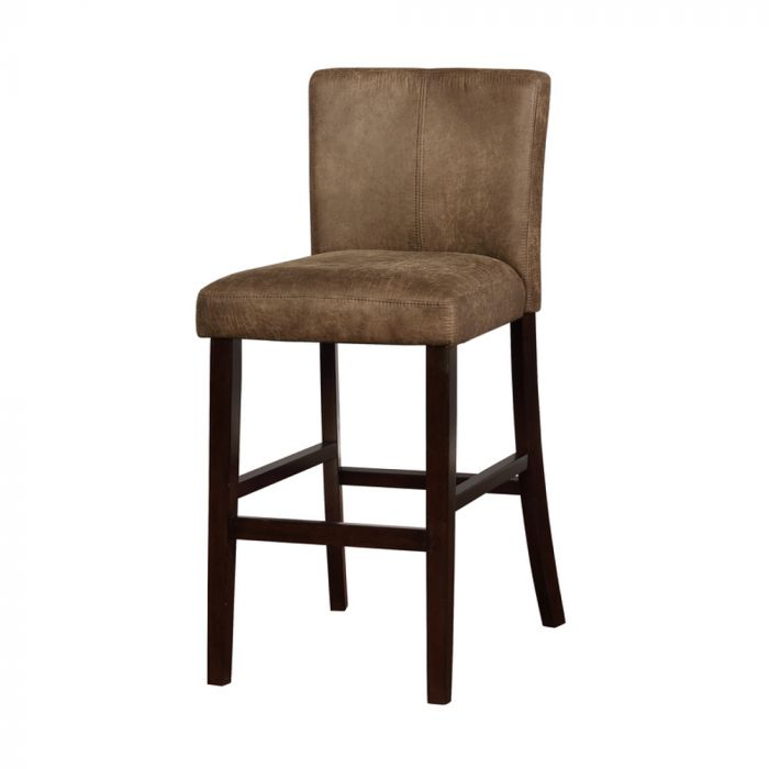 Morocco Distressed Bar Stool Brown