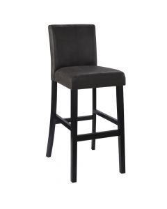 Morocco Bar Stool Charcoal