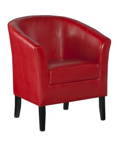 Simon Club Chair Red