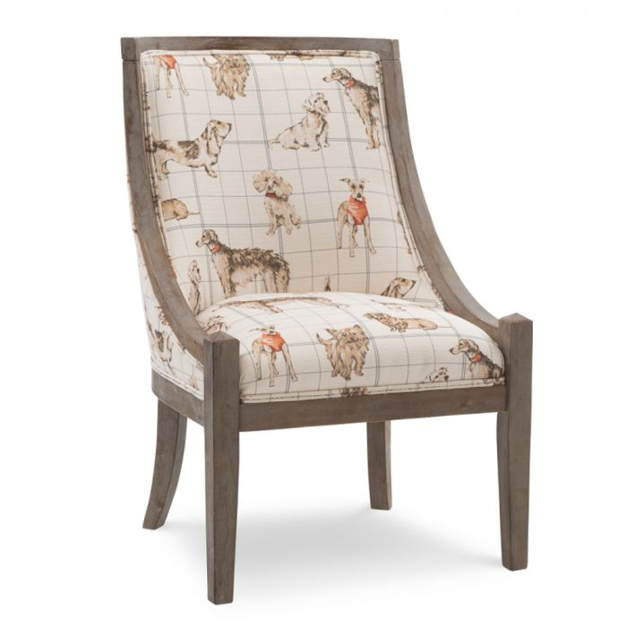 Arnegie Dog Daze Accent Chair