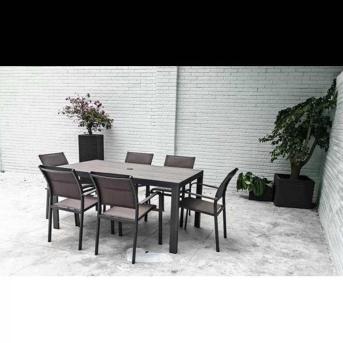 Mykonos Outdoor Dining Set 7 Piece