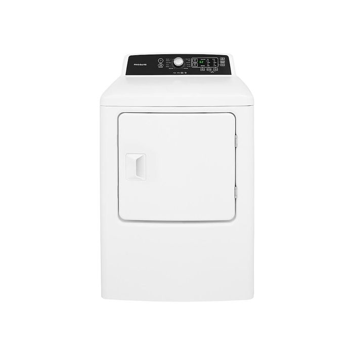 Frigidaire FFRE4120SW 6.7 Cu.Ft Electric Dryer - White