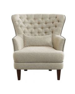 Alicia Accent Chair with Kidney Pillow