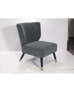 Liantong Home Armless Chair Velvet