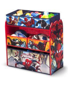 Delta Children Spider-Man Multi-Bin Toy Organizer