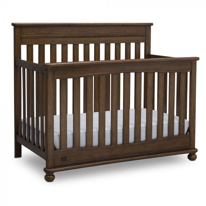 Franklin 4In1 Convertible Crib - Chestnut