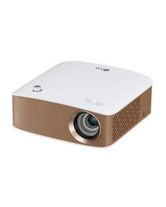 LG MiniBeam PH150G HD Projector with Speaker - Brown/White