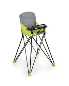 Summer Infant Pop 'n Sit Portable High Chair - Green/Grey