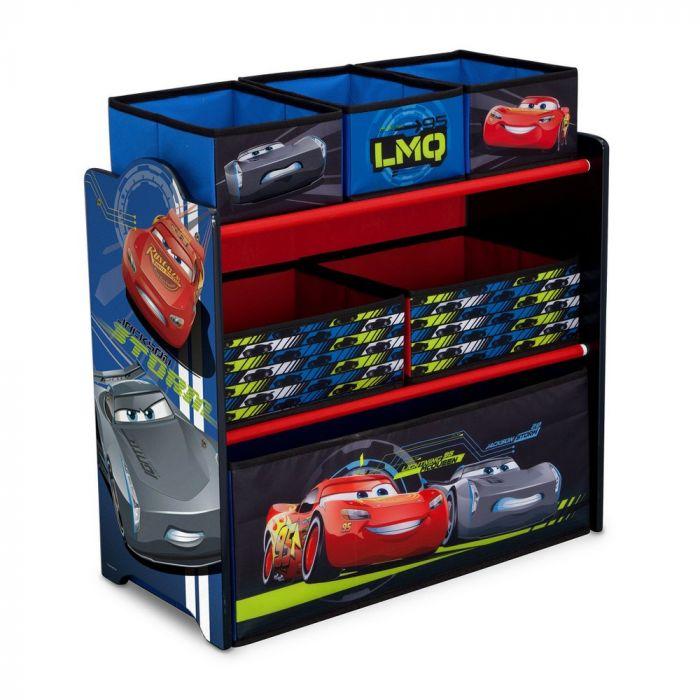 Delta Children Multi-Bin Toy Organizer Disney/Pixar Cars