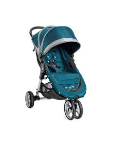 Baby Jogger City Mini 3W Single Stroller - Teal/Gray