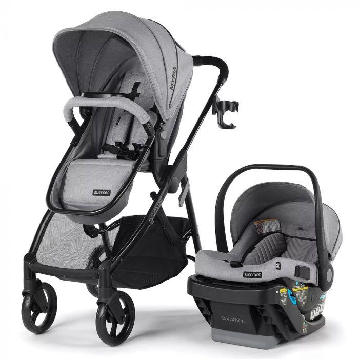 Summer Infant Myria Modular Travel System with Infant Car Seat