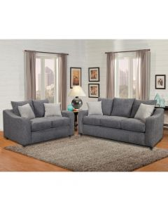 Heather Sofa and Loveseat