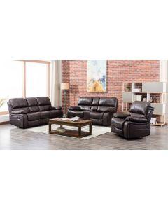 Malibu Brown 2PC Living Room Set