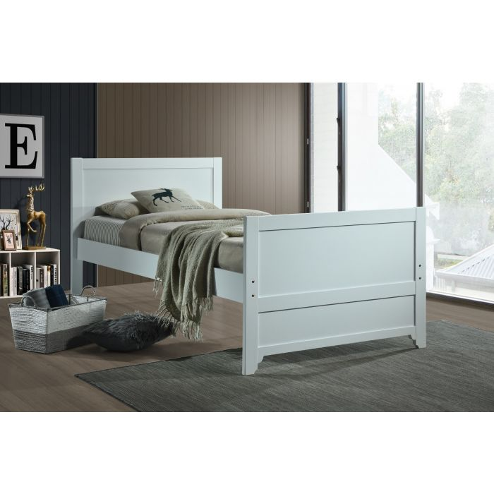 Mate Twin Bed - White