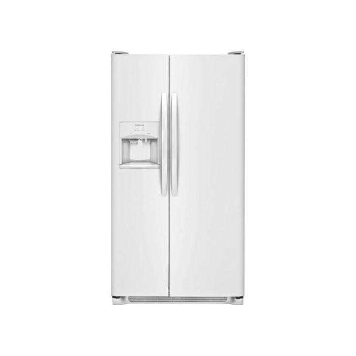 Frigidaire FFSS2615TP 25.6 Cu.Ft. Side-by-Side Refrigerator - White