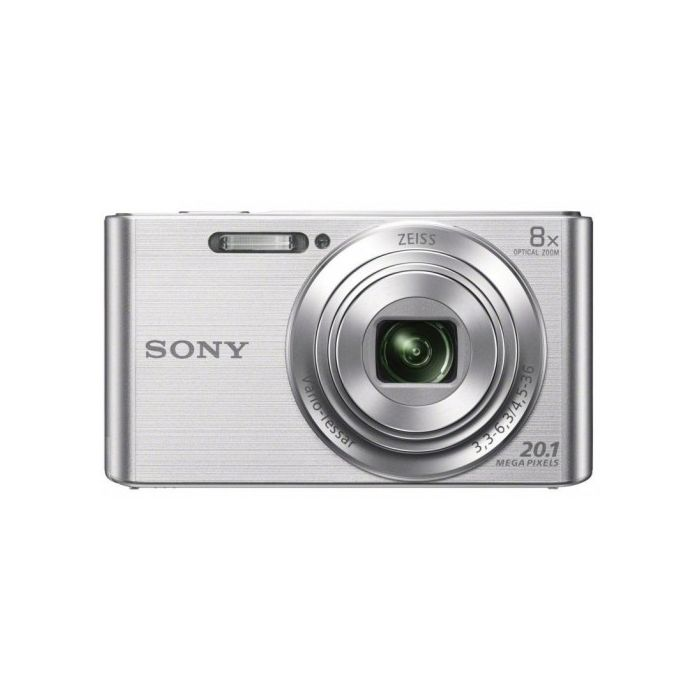 Sony DSCW830 Digital Camera / 20.1 Megapixel / 8x Optical Zoom - Silver