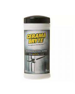 Cerama Bryte Stainless Steel Wipes 35