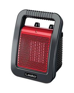 Lasko Ceramic Utility Heater with Adjustable Thermostat - Red CU12110