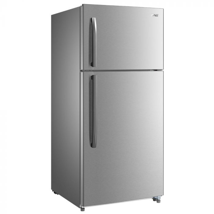 Arctic King 18 Cu. Ft Top Freezer Refrigerator - Stainless Steel