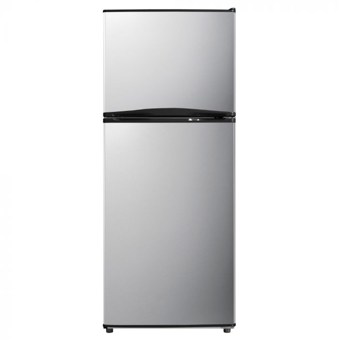 Emerson 9.9Cf Top Mounted Freezer Stainless Steel